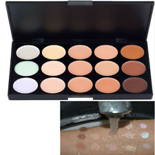 New Waterproof 15 Colors Concealer Camouflage Makeup Palette as Bronzer