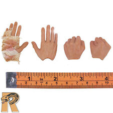 Mad Racer - Hands Set of 4 w/ Bandage - 1/6 Scale - Art Action Figures