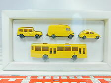 AU838-0,5# Wiking H0 Set PMS 1991 Post advertisement DBP: VW Beetle+MB Bus etc.