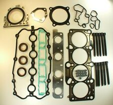 VW 2.0T Gasket Set with Cylinder Head BOLTS Eos Jetta Golf Passat Audi A3 A4 A6