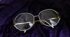 Euroline Exclusive Vintage Womens Wire  and White Eyeglasses Italy 135 451 x40