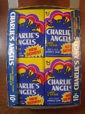(1)-Vintage 1977 Topps Charlie's Angels Series 2 Unopened Wax Pack from Box