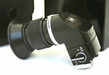 OLYMPUS ANGLE FINDER AND CASE. 1.2x  2.5x (Retail Packaging).