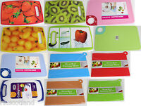 Plastic Coloured Kitchen Chopping Cutting Boards