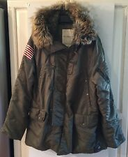 DENIM & SUPPLY RALPH LAUREN DOWN PARKA TENT GREEN XXL NWT $345