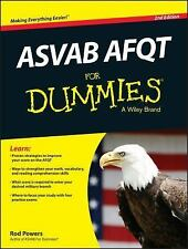 ASVAB AFQT for Dummies by Consumer Dummies Staff and Rod Powers (2014,...