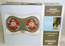 New HoMedics Thera-P Shiatsu Foot Massager w/Heat Maximum Comfort Deep Kneading