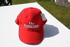 Ball Cap Hat - Fly Emirates - Airline - Red  (H1716)