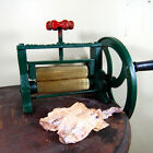 BIG Brass Sugar Cane Dry Squid Mill Juicer Cast Iron Hand Press Extractor VTG A7