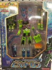 TRANSFORMERS SUPERLINK/ENERGON EX-01 BUILDRON/CONSTRUCTICON TRU JAPAN EXCLUSIVE