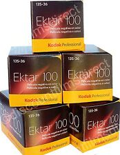 5 x KODAK EKTAR 100 35mm 36exp CHEAP COLOUR PRINT FILM by 1st CLASS POST