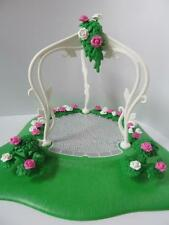 Playmobil Wedding/Dollshouse/Hotel: Garden scene with archway NEW