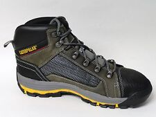 9.5M Caterpillar Men's Convex Mid Steel Toe Work Boot Dark Gull Grey Cat P90521