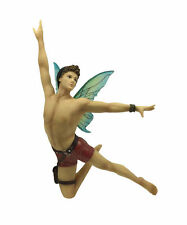 December Diamonds Pan Fairy Christmas Ornament Gay Merman IN STOCK