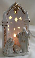 Porcelain Nativity Scene Accent Light - JC Penny