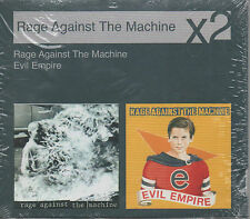 Rage Against The Machine X2 Evil Empire CD NEU limited Pur Ed. People of the sun