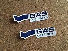 Rare Genuine GAS SPONSOR Visor Helmet DECAL STICKER Honda Repsol 600 1000 RR