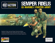 28mm Warlord USA Marines Starter Army BNIB, WWII Bolt Action,
