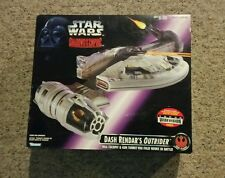 STAR WARS Dash Rendar's Outrider MISB Shadows of the Empire RARE STAR FIGHTER