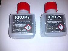 Krups XS9000 Flüssigreiniger, Milchdüsenreiniger für EA9000, EA9010 2 x 100ml