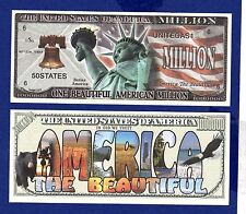 1--AMERICA THE BEAUTIFUL DOLLAR  BILL Novelty - Collectible- FAKE- ITEM-D