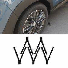 Carbon Black Wheel Mask Decal Sticker Cover for HYUNDAI 2015 2016 All New Tucson