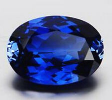 EXQUISITE 14.23CT  ROYAL BLUE SAPPHIRE 13x18mm OVAL CUT AAAA+ LOOSE GEMSTONE