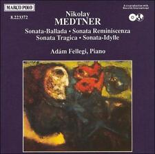 MEDTNER: PIANO SONATAS [MEDTNER, NIKOLAI] [4891030233720] NEW CD