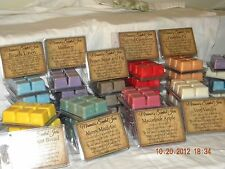 Six - Miramar's Scented 6 pack- 3oz Soy Wax Melts Tarts - 60++ Scents Available