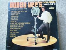 BOBBY VEE'S GOLDEN GREATS 15 OF HIS BIGGEST HITS LIBERTY RECORDS 33 1/3 RPM