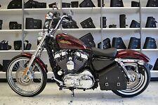Harley SPORTSTER All Years LEFT Side SOLO BAG Saddlebag - SL013 BAD&G CustomS