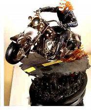Ghost Rider Black Chrome Variant Statue Bowen Designs Marvel Comics 2004