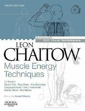 Muscle Energy Techniques with DVD-ROM, 3e (Advanced Soft Tissue Techniques) Chai