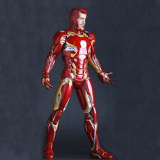"12"" Statue Crazy Toys Marvel Universe Avengers Iron Man Mark 45 Action Figure"