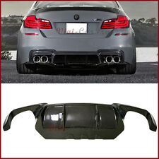 Fit 12-17 BMW F10 M5 Bumper Carbon Fiber V Style Rear Diffuser Replaced Body Kit