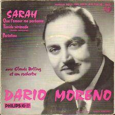 "DARIO MORENO ""SARAH"" 50'S EP PHILIPS 432.263"
