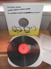 Dr. Gretchen's Musical W. Program/Thurston Moore/Golden Calves Century Band LP