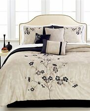 Hallmart Collectibles Mirabelle 7 Piece CAL KING Comforter Set Bedding y1107