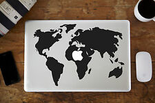 "Mappa del mondo Adesivo Decalcomania per Apple MacBook Air / Pro Laptop 13 "" 15"""