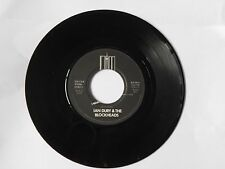 "Ian Dury & The Blockheads - I Want To Be Straight 7"" 1980 Stiff BUY90"