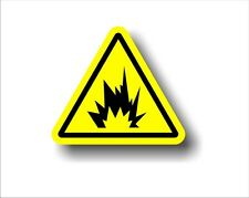 Industrial Electrical Safety Decal Sticker WARNING ARC FLASH EXPLOSIVE label