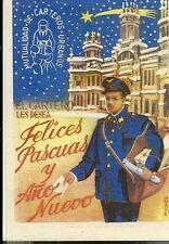 Tarjeta Felicitacion Navidad El Cartero (3)