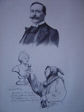 Gravure Portrait de José FRAPPA 1902