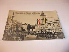 Postkarte Ansichtskarte AK Die verbündeten Truppen in Warschau Schloss um 1915