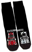 DR WHO DOCTOR WHO DALEK EXTERMINATE! SOCKS UK SIZE 6-11 / EUR 39-45 / USA 7-12