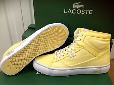 Lacoste VAULTSTAR Women's High Top Trainers UK 4 EU 37.