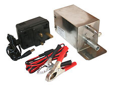 Mini BBQ Spit Cyprus Cypriot Grill Rotisserie Motor 12/240 Volt Foukou