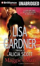 Family Secrets: Maggie's Man 1 by Lisa Gardner (2014, CD, Unabridged)