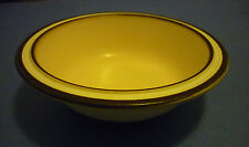 Denby Cream with Brown & White Trim on Rim Soup or Cereal Bowl several available