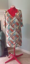 To The Max (BCBG) Geo Print Dress - Large